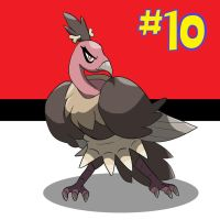 My Top 10 Pokemon: #10 MANDIBUZZ by the-real-Payne