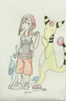 Pokemon Master by Ladywiththeface