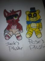 FNF Shared Kids' Plushies by TF-Sunlight