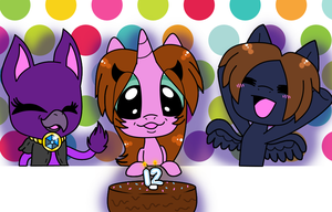 Mlp Blowing Out Candles by bumbleboo12