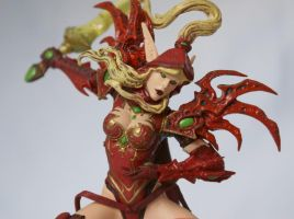 Blood Elf Rogue: Valeera Sanguinar by Tendranor