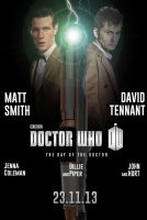Doctor Who: The Day of the Doctor Teaser Poster by TouchboyJ-Hero