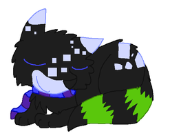 Adorable Sleeping Pixels from Outer Space by BarleyandJazzy