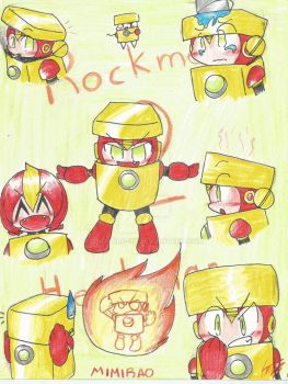 Hotto Hitoman in Rockman 2 by Mimirao