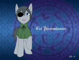 Ciel Phantomhooves by The-Clockwork-Crow
