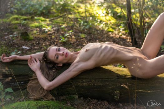 Eleonora in the woods by philippe-art