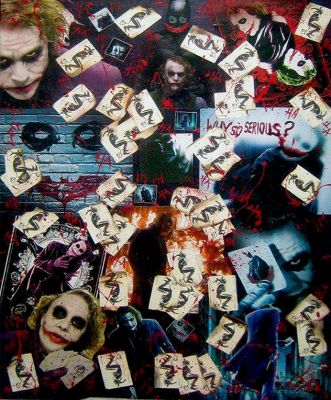 Joker Collage by mldrfan
