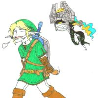 link x midna by GrievousGeneral