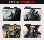 Edge of Tomorrow 2014 Folder Icon by sonerbyzt