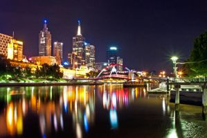 Melbourne Alight by DanielleMiner