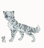Jayfeather by Silver-Feather-Heart