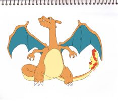 Charizard from Pokemon by sakurachan456