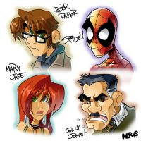 Spidey MugShots by herms85