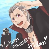 Hidan - Happy Birthday C: by LotusMartus