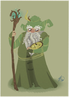 Radagast the Brown by Shiba-Inuuu