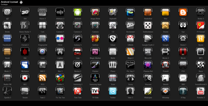 Android Iconset 70x70 by coolerpvr