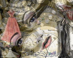 woman in time by msklystron