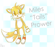 "Miles ""Tails"" Prower by ADeterminedPie"