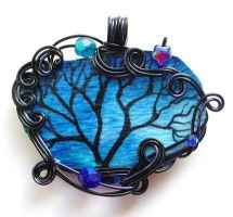 Twilit Forest Pendant no. 12 by ThrottledRose