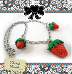 Oh my - Strawberry Necklace by ohmymarie