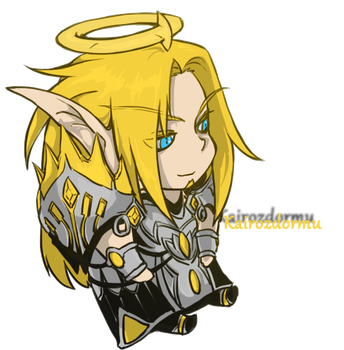 Chibi Kairoz - Colored Version by Luridsun