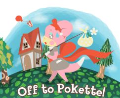 Off To Pokette by RockyDee