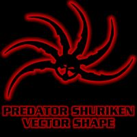 Predator Shuriken Shape by Retoucher07030