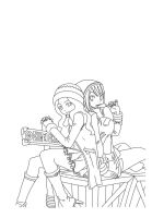 Fairy tail lineart by Tenshi--Itachi
