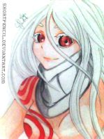 Deadman Wonderland: Shiro by shortpencil