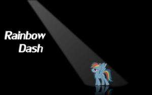 Spotlight - Rainbow Dash by Bryal