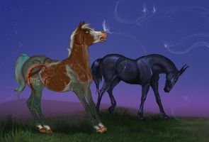 Magic for foals by Moon-illusion