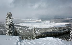 Snowy View from Lookout Mtn by Leitmotif