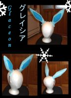 Glaceon ears by Gijinkacosplay