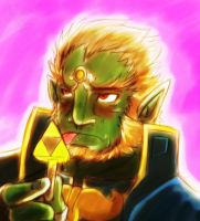 Ganondorf lick the crime by leomon32
