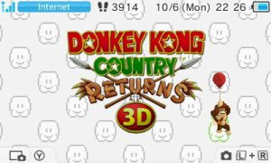 Donkey Kong Country Returns 3D by UKD-DAWG