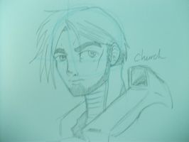 Church sketch by FactionFighter