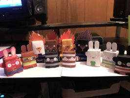 Dolly Oblong Papercraft by Meercat122