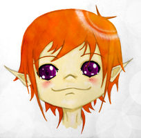 Chibi Elf by Jelly-Flava