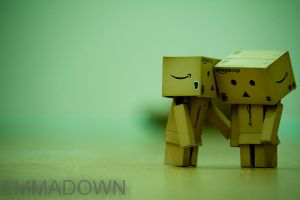 'Everything will be ok' - Danbo Series by oEmmanuele
