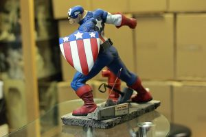 Captain America Optional Head by mufizal