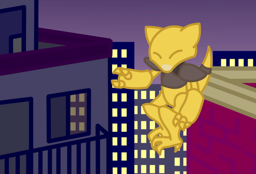 Abra by doubleosquirtle