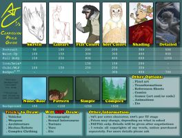 Commission Price Guide by Birvan