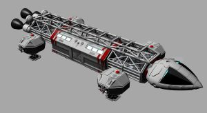 Space 1999 - Eagle One transporter by Ashley3d