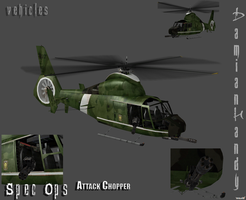 SPEC OPS Attack Chopper by DamianHandy