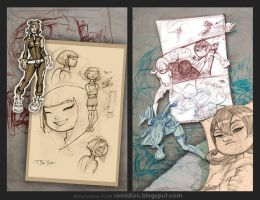 Mo Pages from the Book... by romidion