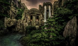 Le Temple de Zeus by Noxart-graphics