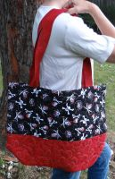 Quilted Bag - Pirate by quiltoni