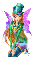 Flora Gothic Fairy Couture by fenixfairy