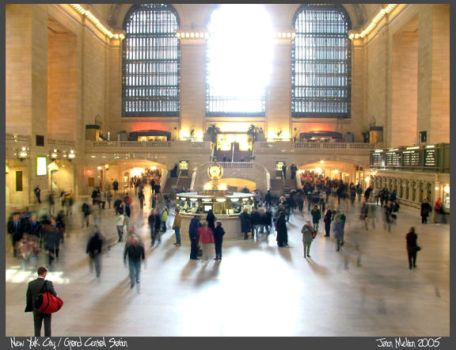 Grand Central Station by Aideon