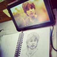 Baelfire Sketch by devsash